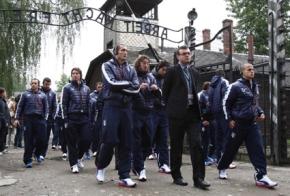 Nazionale Italiana en Auschwitz
