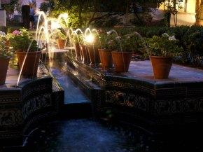 Jardín Museo Sorolla de noche