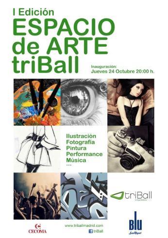 Espacio Arte Triball (Cartel)