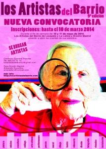cartel convocatoria 2014 con bruclin