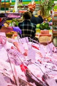 Mercado de Chamberí - Detalle pescadería