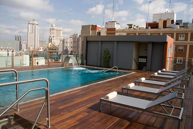 M jate lamadridmorena for Hoteles nh madrid con piscina