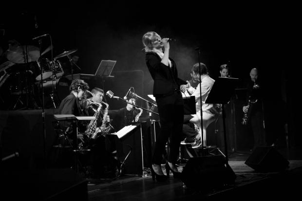 Walter Sax Big Band & Noa Lur