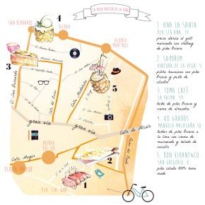ruta de la piña Orsero