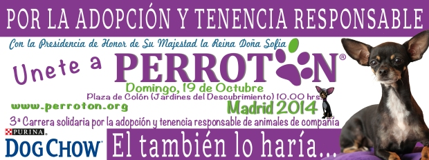 BANNER PERROTÓN MADRID 2014 - DOG CHOW DEFINITIVO
