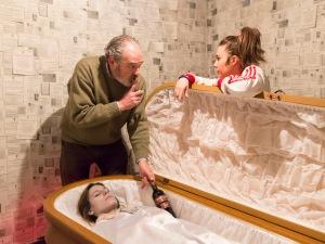 Achicharrados en la Sala Ramón Bilbao Viñedos de Altura con Carlos Olalla y Claudia Perez