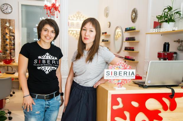 Julia y Sofía, las socias de Siberia
